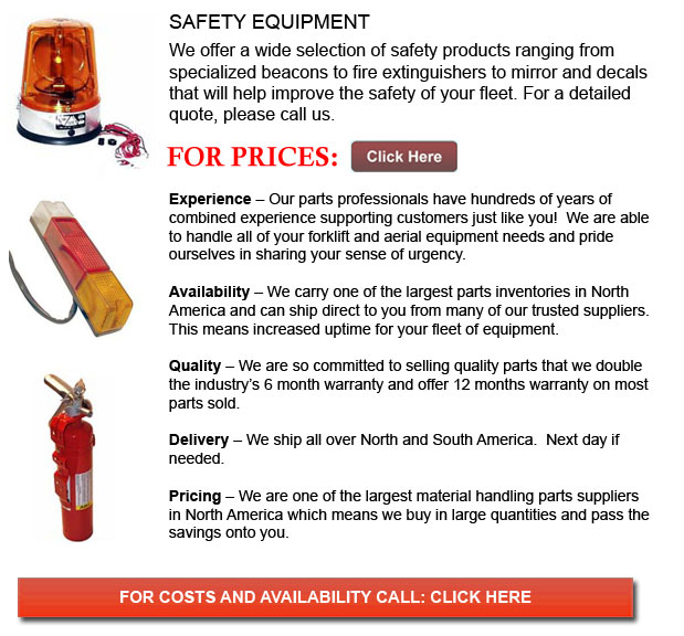 Safety Equipment for Forklifts