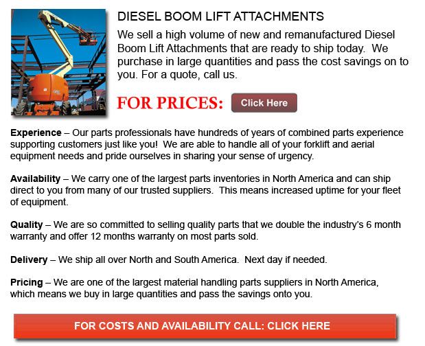 Diesel Boom Lift Attachments