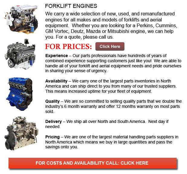 Engines for Forklifts