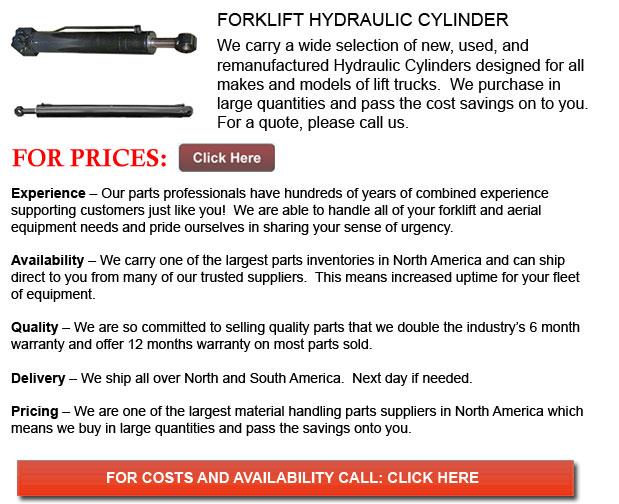 Forklift Hydraulic Cylinders