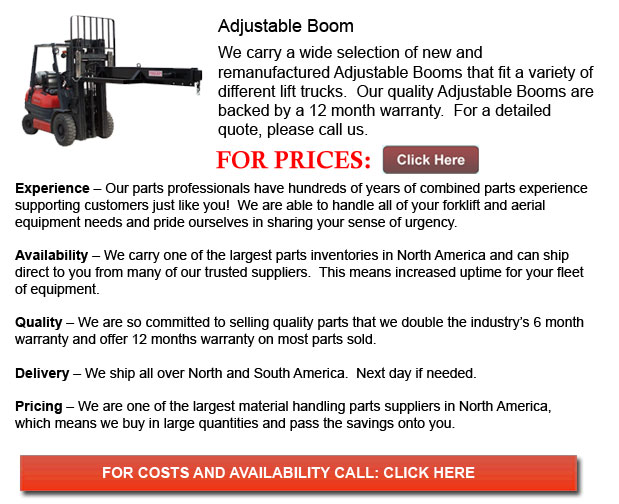 Adjustable Booms