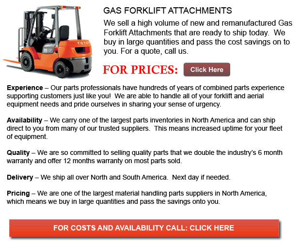 Gas Forklift Attachments