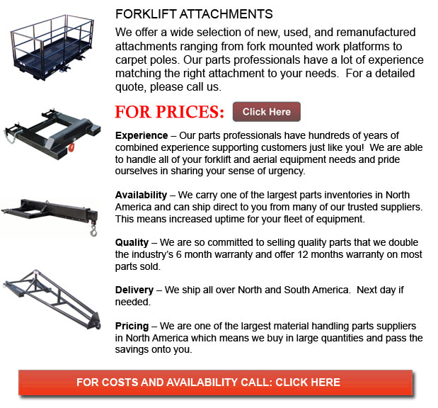 Attachments for Forklifts