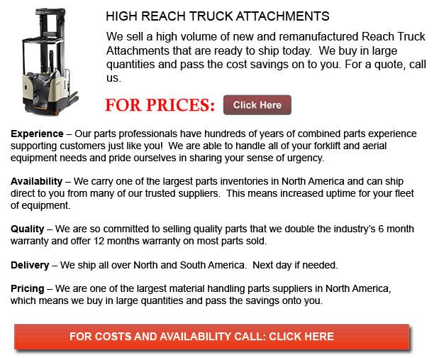 High Reach Truck Attachments