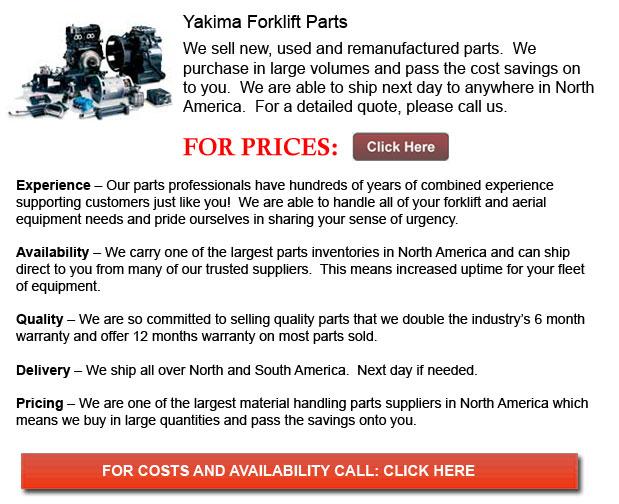 Yakima Forklift Parts