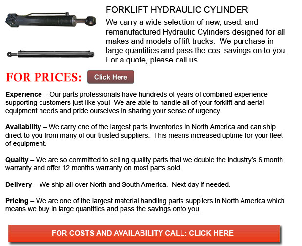 Hydraulic Cylinders for Forklift