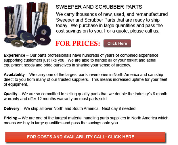 Sweeper and Scrubber Parts